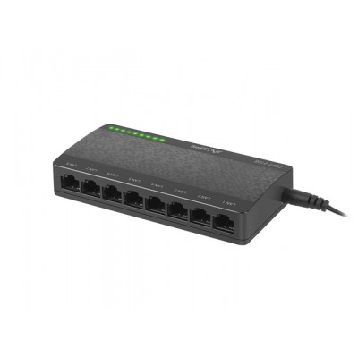 SWITCH LANBERG DSP1-0108 8-PORT 100MB/S DESKTOP