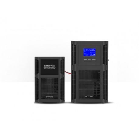 UPS ARMAC ON-LINE 2000VA 8X IEC C13 TOWER + BATTERY PACK B/0609/O BUNDLE